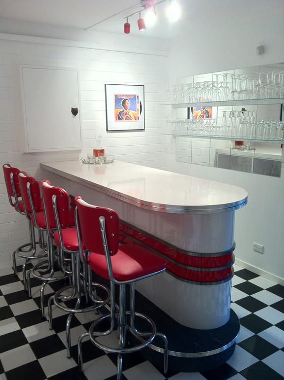 New Retro Bars Custom Millwork Interior Designs